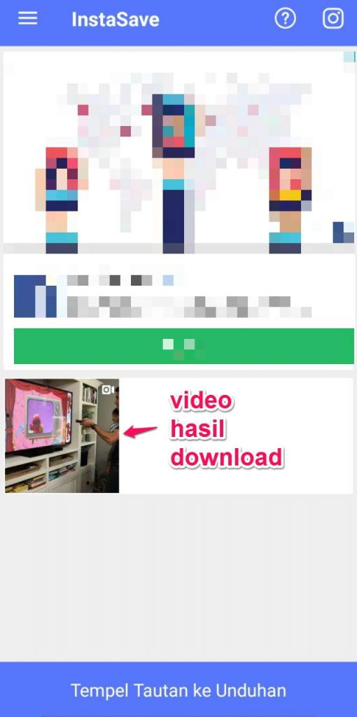 apk download video instagram