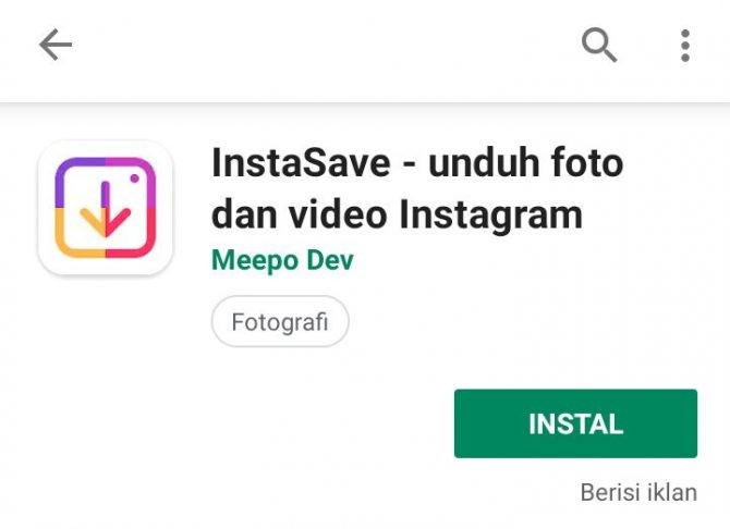 aplikasi download video di instagram