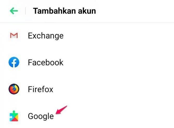 cara membuat email di handphone android
