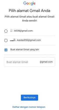 cara membuat email di hp oppo
