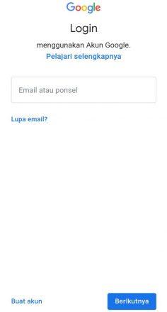 cara membuat email di hp xiaomi
