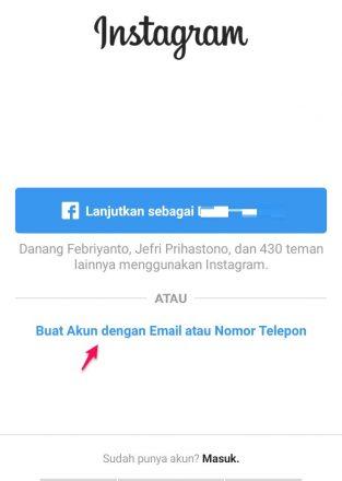 cara menambah akun di instagram terbaru