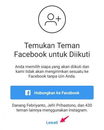 cara menambah akun instagram di android