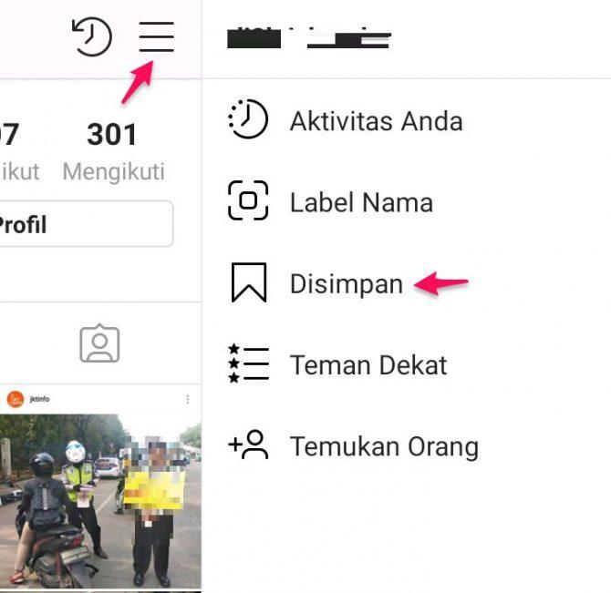 cara menyimpan foto dari instagram di android tanpa aplikasi