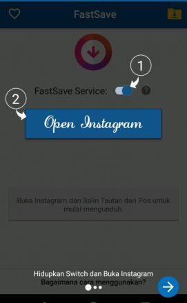 cara menyimpan gambar dari instagram ke galeri hp