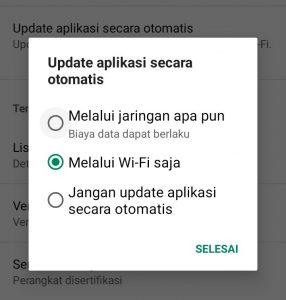 cara update aplikasi di android