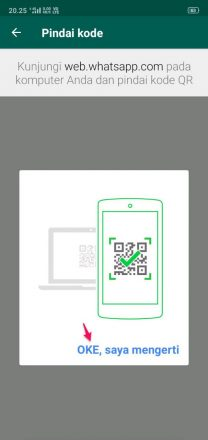 cara melihat barcode whatsapp sendiri di hp