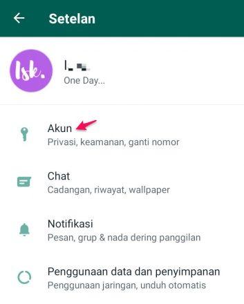 gimana cara setting whatsapp supaya tidak terlihat online